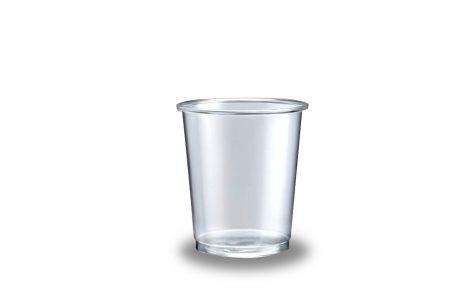 Bicchieri plastica supertrasparenti lisci Rosati Carta