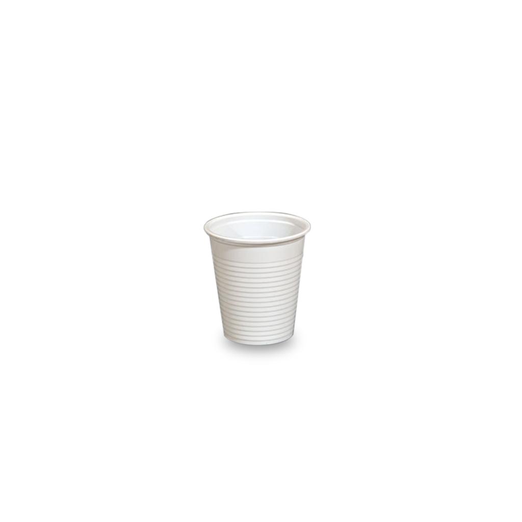 Bicchieri da caff in plastica bianca 80 cc rosati carta for Bicchieri caffe