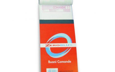 Blocchi Comande a 3 copie Zeroblu Rosati Carta