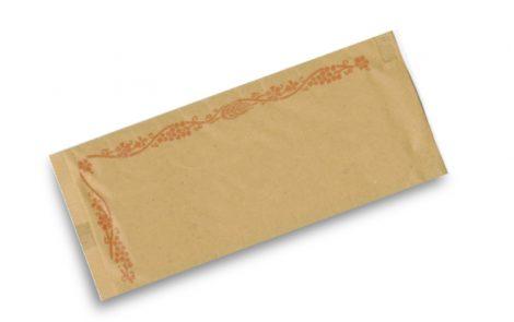 Busta portaposate cartapaglia con cornice Rosati Carta