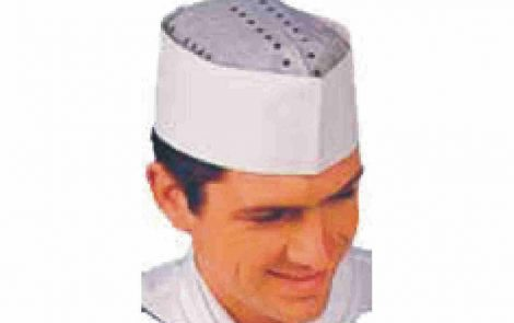 Cappello bustina carta bianco Rosati Carta