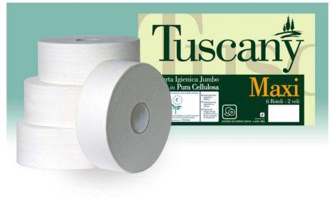Rotoli Carta Igienica Jumbo Maxi Rosati Carta