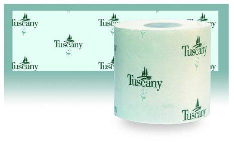 Rotoli carta igienica singoli fascettati Tuscany Rosati Carta