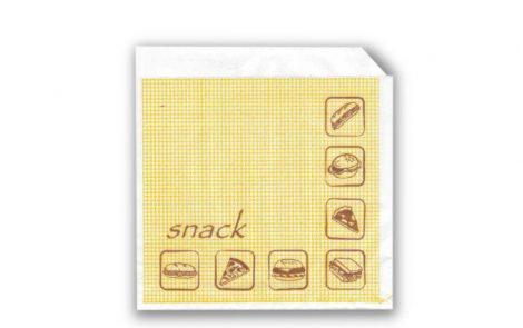 Sacchetti per snack da asporto Rosati Carta