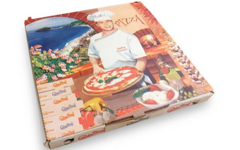 Scatole per asporto pizza Rosati Carta