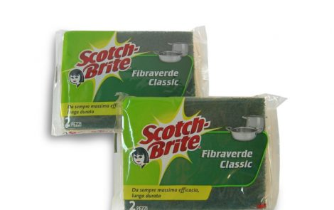 Spugna Verde Scotch Brite Rosati Carta