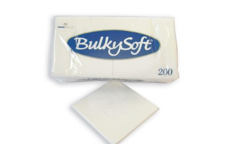 Tovaglioli bianchi a 1 velo Bulkysoft Rosati Carta