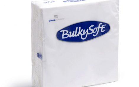 Tovaglioli bianchi plus punta-punta Bulkysoft Rosati Carta