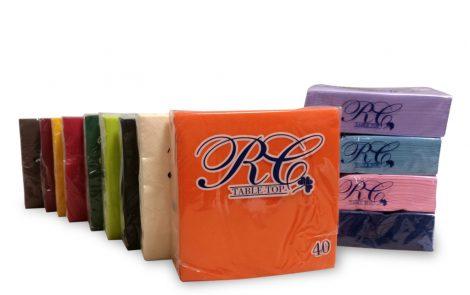 tovaglioli colorati tinta unita RCTT Rosati Carta
