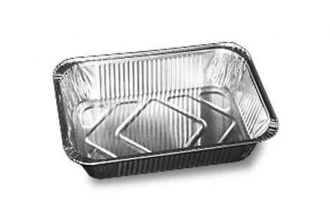 Vaschette Alluminio Rettangolari VAL 101 Rosati Carta