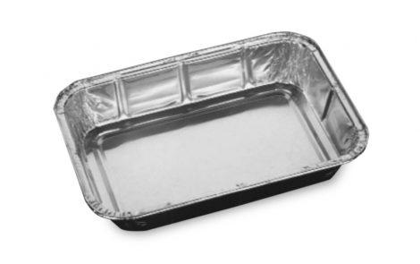 Vaschette alluminio rettangolari Rosati Carta