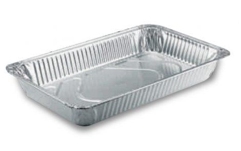 Vaschette alluminio rettangolari gastronomia Rosati Carta