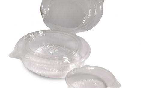 Vaschette OPS ovali trasparenti Rosati Carta