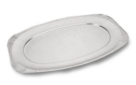 Vassoi alluminio rettangolari Rosati Carta