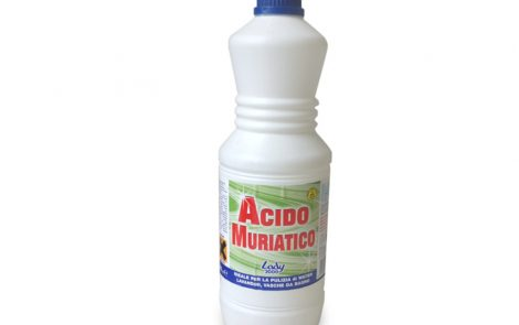 Acido muriatico detergente Lady2000 Rosati Carta