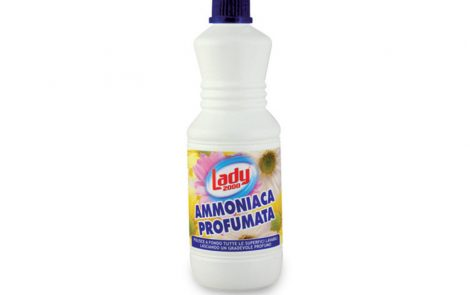 Ammoniaca detergente profumata Lady2000 Rosati Carta