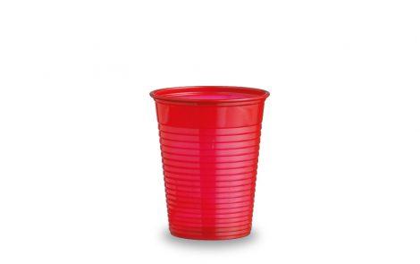 Bicchieri plastica rosso Rosati Carta