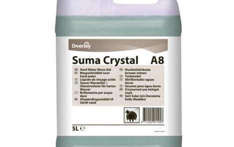 Brillantante acido concentrato per lavastoviglie Suma Crystal Rosati Carta