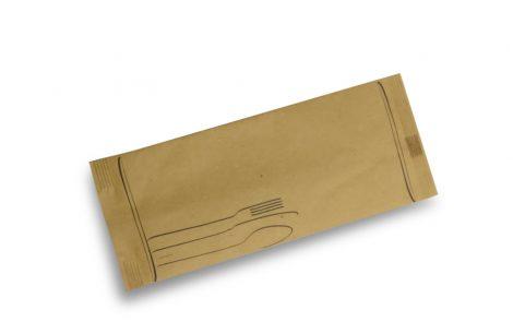 Buste portaposate Cartapaglia modello posate Rosati Carta