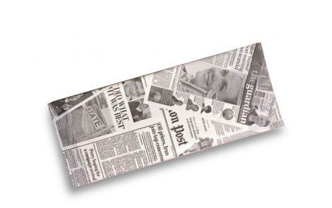 Buste portaposate modello Giornale con tovagliolo Rosati Carta
