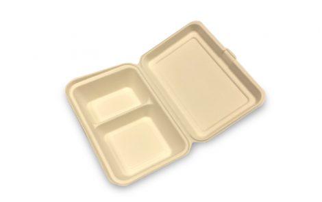 Contenitore lunch-box doppio scomparto bio Rosati Carta