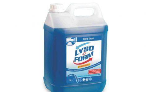 Detergente disinfettante Lysoform Rosati Carta