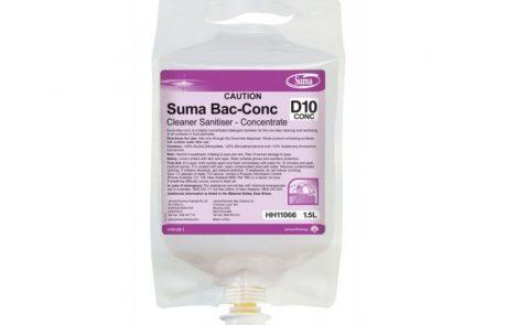 Detergente disinfettante superconcentrato Suma Rosati Carta