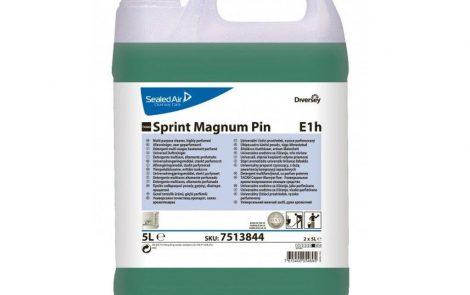 Detergente profumato Pavimenti Superfici Sprint Magnum Pin Rosati Carta