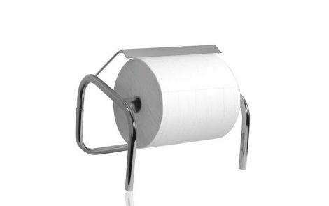 Dispenser asciugamani carta cromato Rosati Carta