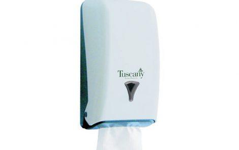 Dispenser per carta igienica intercalata Rosati Carta