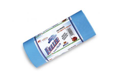 Sacchi immondizia rotolo blu Rosati Carta