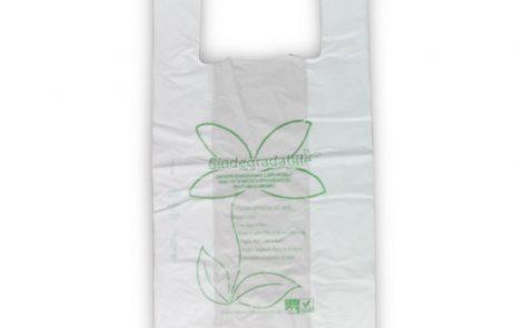 Buste shoppers biocompostabili taglia grande Rosati Carta