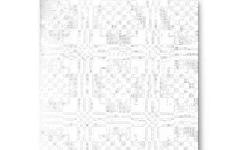 Tovaglie carta accoppiate damascate bianco Rosati Carta