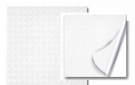 Tovaglie carta accoppiate kraft bianco 100x100 Rosati Carta