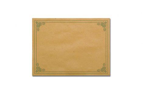 Tovaglietta carta paglia modello bistrot Rosati Carta