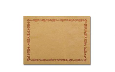 Tovagliette carta paglia modello cornice Rosati Carta