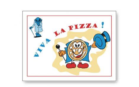 Tovagliette kraft modello pizza 30x40 Rosati Carta