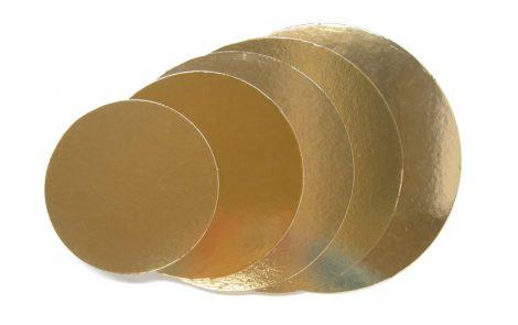 Dischi di cartone oro per torta Rosati Carta