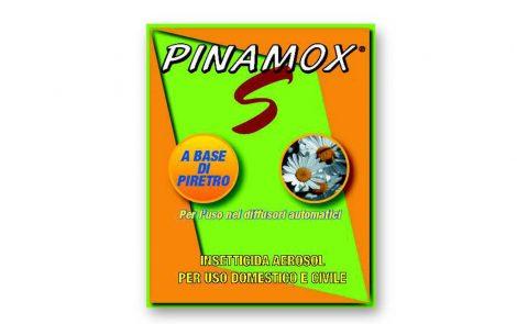 Insetticida Pinamox S con piretro Rosati Carta