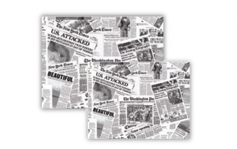 Carta accoppiata freshpack giornale Rosati Carta