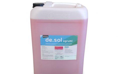 Detergente bio enzimatico professionale agrumi Micropan desol Rosati Carta