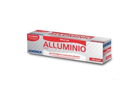 Rotolo alluminio con dispenser 30x125 Rosati Carta