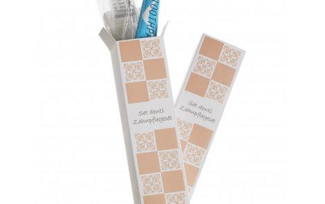 Set spazzolino e dentifricio Acanto Linea Cortesia Rosati Carta