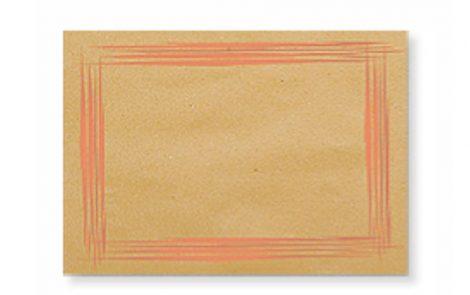 Tovagliette carta gialla scratch Rosati Carta