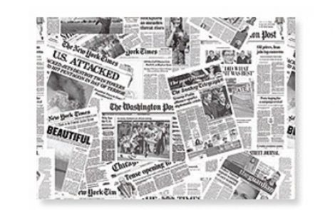Tovagliette kraft giornale Rosati Carta