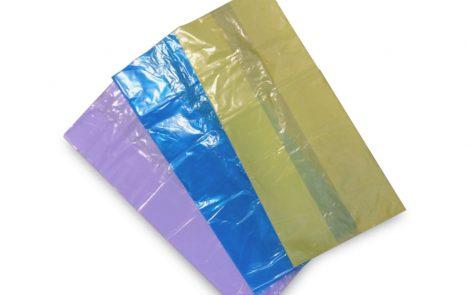 Sacchi immondizia stesi vari colori Rosati Carta