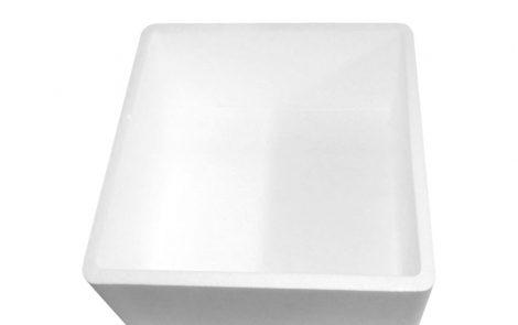Cassa termica bianca Rosati Carta particolare