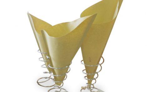 Coni cartapaglia per fritto Rosati Carta