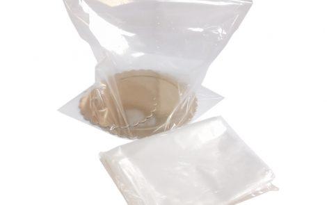 sacchetti polipropilene neutri rosati carta