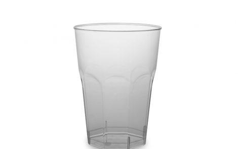 Bicchieri ottogonali 350 cc Rosati Carta